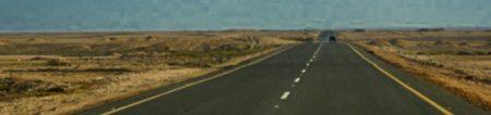 Caminho para o Distrito de Tombwa –Namibe, Angola (Foto: Acervo NUER)