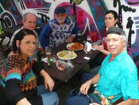 Almoço com Samuel Aço Mercado de Florianopolis, 2012