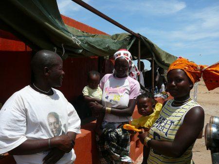 Soba Mbeiapé e sua familia 2014