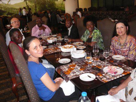Almoço em Luanda 2014