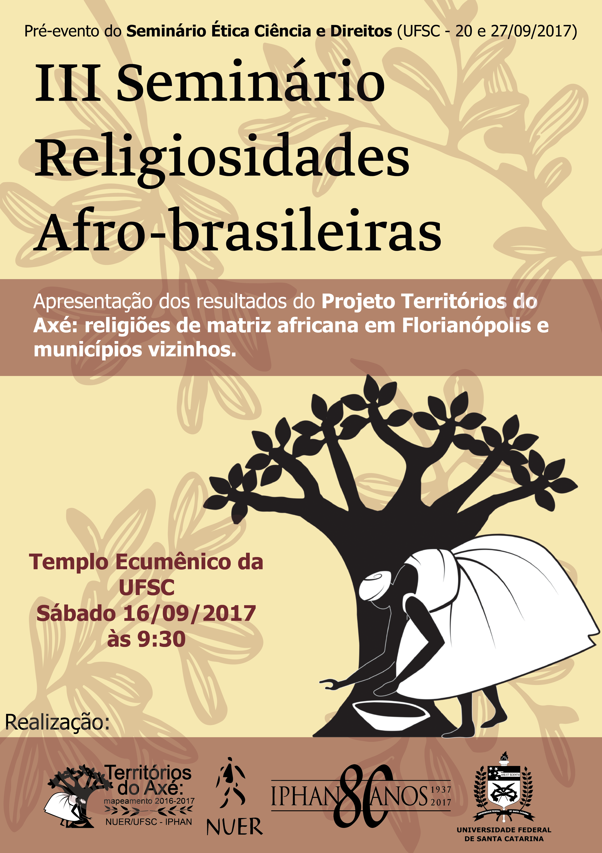 III Seminário Religiosidades Afro-brasileiras